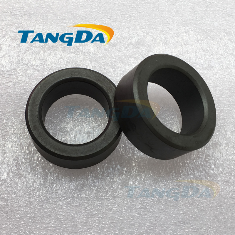 все цены на Tangda ferrite core bead 50*32*20mm magnetic ring MnZn Mn-Zn magnetic coil inductance interference anti-interference filter A. онлайн