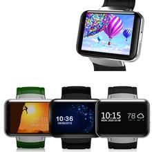 RsFow DM98 Smartwatch Bluetooth Relógio Inteligente Android 4.4 3G Telefone MTK6572 Dual Core 1.2 GHz 4 GB ROM Câmera de Vídeo WCDMA WiFi GPS