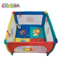Для сна многофункциональная кровать Портативный складной детской кроватки манеж Складная люлька детская кровать мультфильм игра кровать