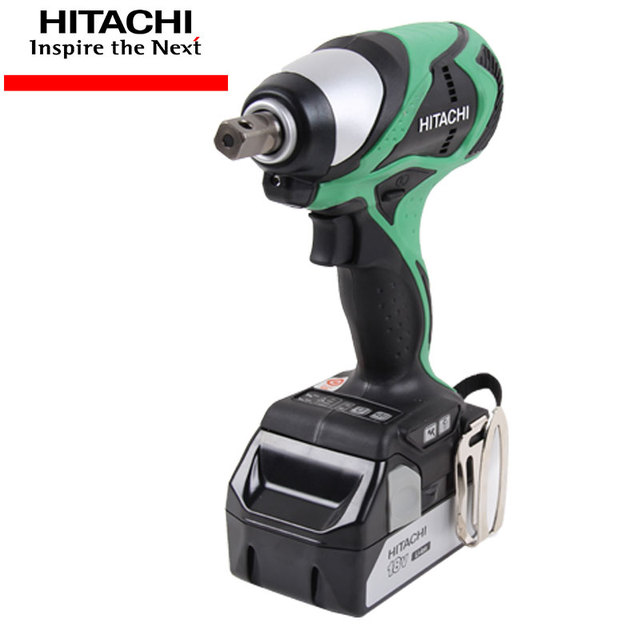 Hitachi Wr18dbdl Rechargeable Lithium Electric Impact Wrench 18v Brushless Motor Installation Sleeve Scaffolding
