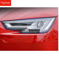 Car Styling For Audi Q5 A3 Q3 Q7 Headlight Protection TPU films stickers BC transparent invisible covers Accessories