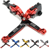 CNC Aluminum Motorcycle Clutch Brake Lever Extendable Adjustable For Hyosung GT250R 2006 2010 GT650R 2006 2009 GT250 R GT650 R