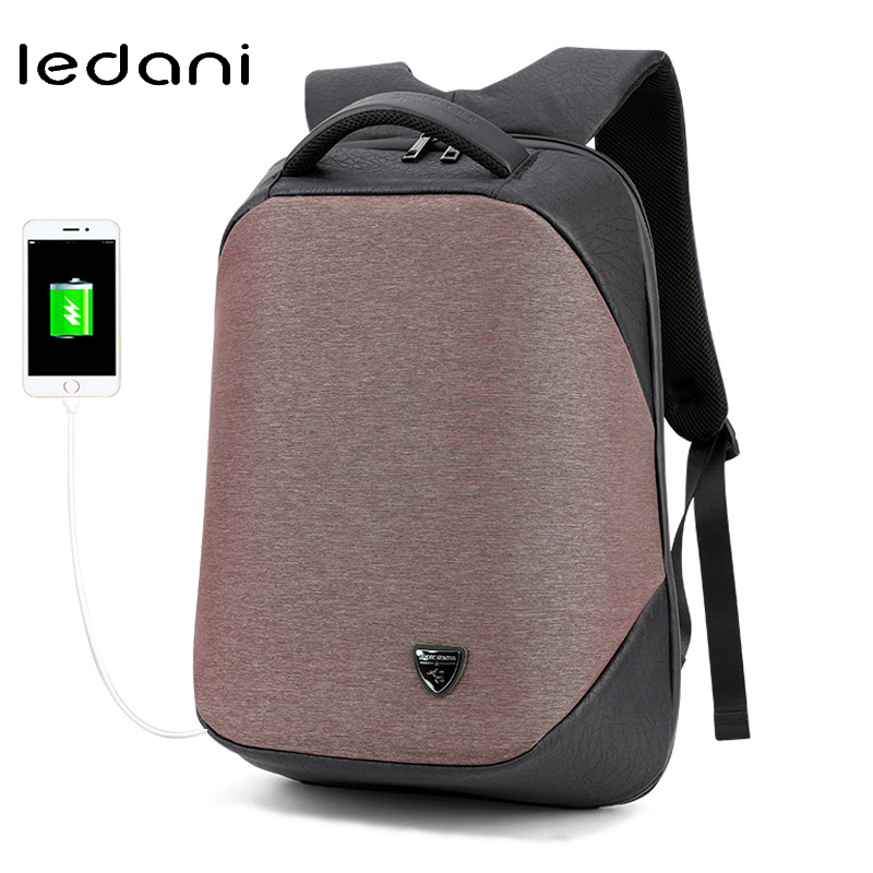 LEDANI Laptop Backpack Men Waterproof Backpacks School Bags for Teenage Girls Casual Travel Fashion Back Pack Business Bags multifunction men women backpacks usb charging male casual bags travel teenagers student back to school bags laptop back pack