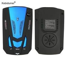 Kebidumei высокое качество V7 автомобиля Антирадары 360 градусов авто детекторы английский/Русский Голос оповещения Предупреждение автомобильный радар для автомобиля