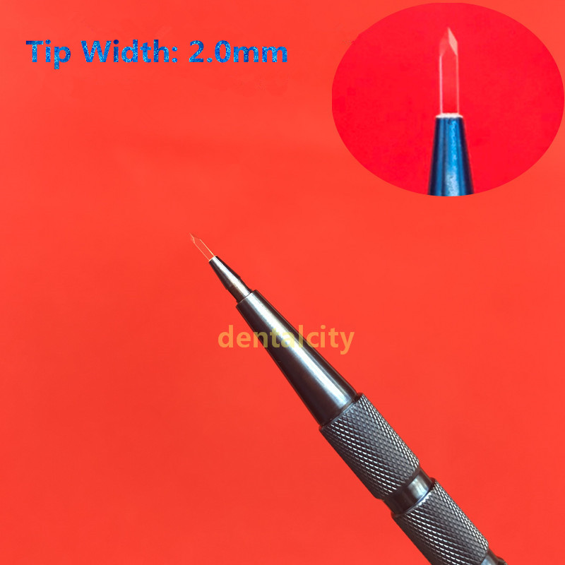 2.0mm eyebrow hair planting hair tool hair transplant pen hair follicle planting pen New Manually implanted tool2.0mm eyebrow hair planting hair tool hair transplant pen hair follicle planting pen New Manually implanted tool