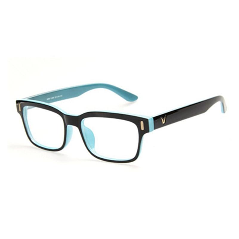 Magas színvonalú V-alakú doboz szemüvegkeret márka női divat - Ruházati kiegészítők