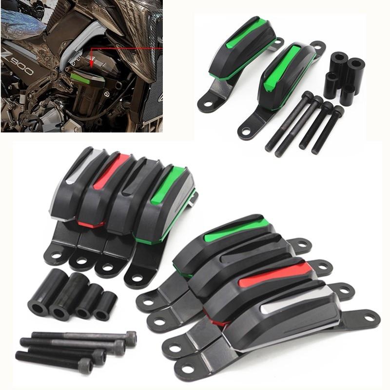 Fast Shipping Motorcycle CNC Parts For Kawasaki Z900 2017 2018 2019 Engine Cover Crash Pads Frame Protector Slider Stator guard