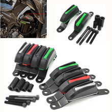 Fast Shipping Motorcycle CNC Parts For Kawasaki Z900 2017 2018 2019 Engine Cover Crash Pads Frame Protector Slider Stator guard for kawasaki z900 2017 2018 engine guard cnc aluminum cover protector motor bike frame slider pads motorcycle accessories