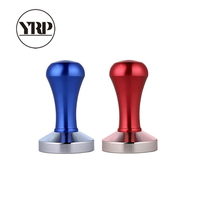 YRP  Espresso Coffee Tamper 58mm Stainless Steel Flat Coffee Tamper Machine Barista Tool Maker Grind Press Hammer Accessories|Coffee Tampers| |  -
