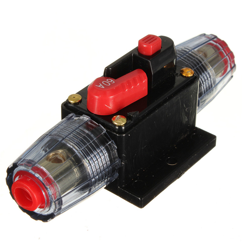 60a car audio inline circuit breaker fuse for 12v protection skcb 02 rh aliexpress com