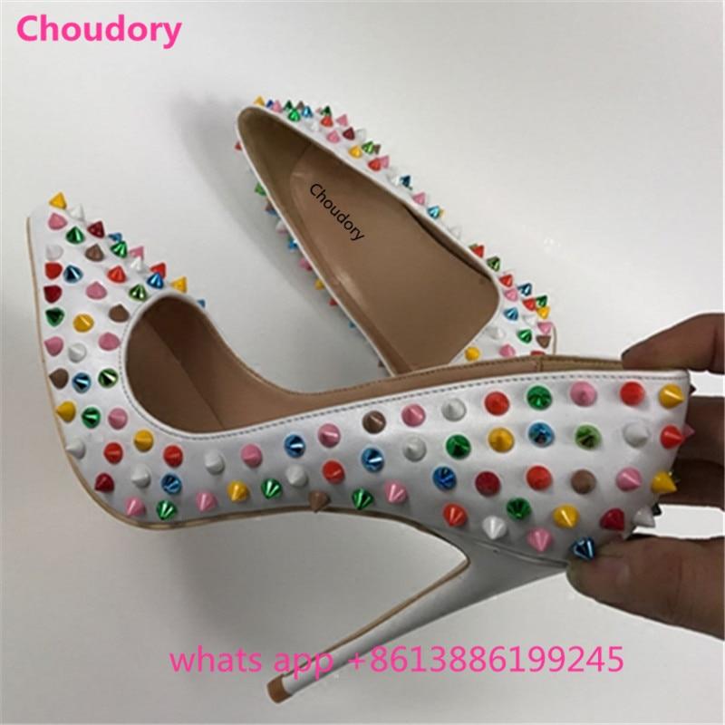 Online Get Cheap Studded Spiked Heels -Aliexpress.com | Alibaba Group