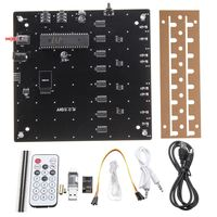 LEORY DIY 3D LED Light Cube Kit Wi Fi Connected APP Control 8x8X8 512 LED Display Equipment MP3 DAC Circuit Music Spectrum