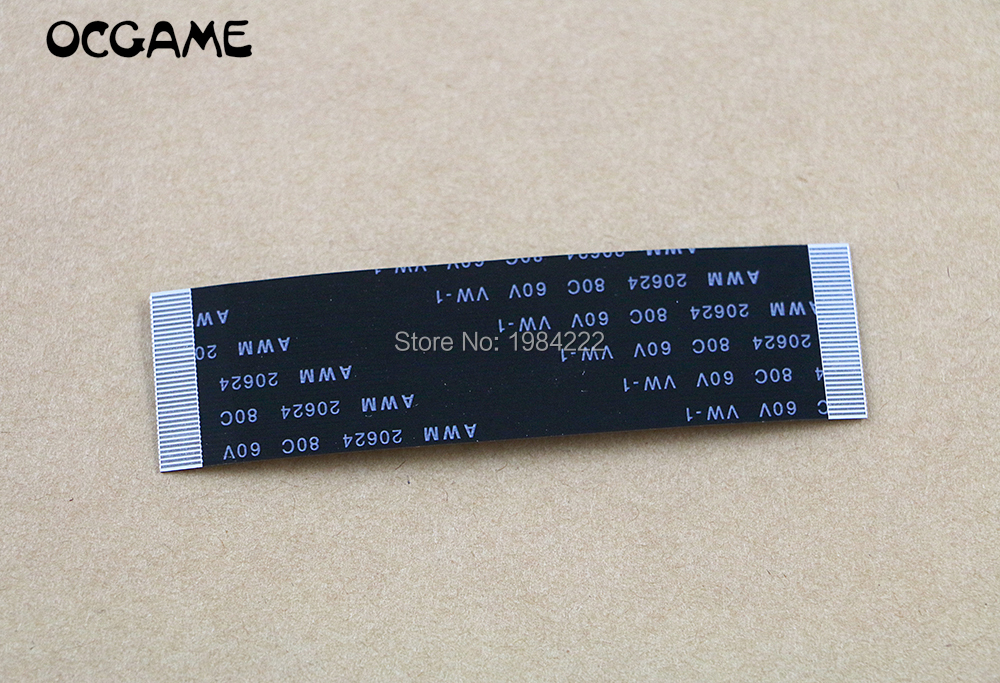 OCGAME 10pcs/lot 36pin 70mm Controller Slots Connect To Motherboard Flex Cable Repair Part For PS2 30000 50000 Controller
