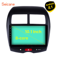 Seicane 10.1 inch Android 8.1 Car Radio for 2011 2015 Mitsubishi ASX Peugeot 4008 CITROEN GPS Stereo Multimedia Player ROM 16GB