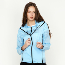 Sun UV protective clothing for women windbreaker ultra thin fast dry fishing sunscreen outdoor skin clothing  anti-uv UPF40