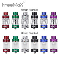 Original Freemax Mesh Pro Tank Carbon Fiber Version 5ml/2ml Capacity with Mesh Pro Coil 18mm Wide Bore 810 Drip Tip vs Drop Dead