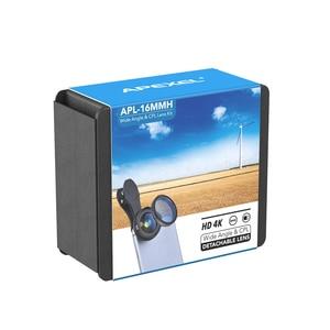 Image 5 - Набор объективов APEXEL Pro для камеры 16 мм 4k широкоугольный объектив с фильтром CPL Универсальный объектив HD Мобильный телефон для iPhone 7 6S Plus Xiaomi