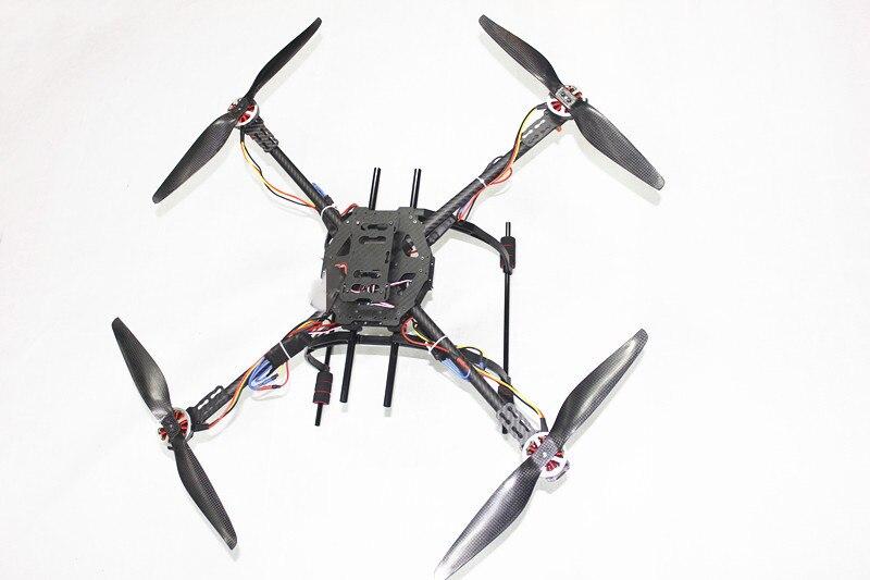 4-Axle Folding 3K Carbon Fiber Drone Kit RTF NO Adapter