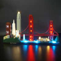 Kit de lumière LED pour éclairage de San Francisco 21043 Architecture (non inclus le modèle)