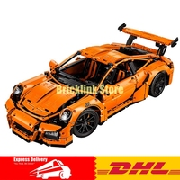 Lepin 20001 Technic Series Super Race Car Model Building Kits Bricks Blocks Educational Toys Compatible 42056