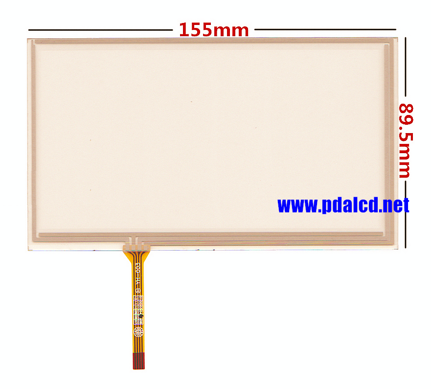 6.5 inch 155mm*89mm Touch Screen for AT065TN14 20000938-31 Car DVD navigation Touch screen digitizer panels Repair replacement