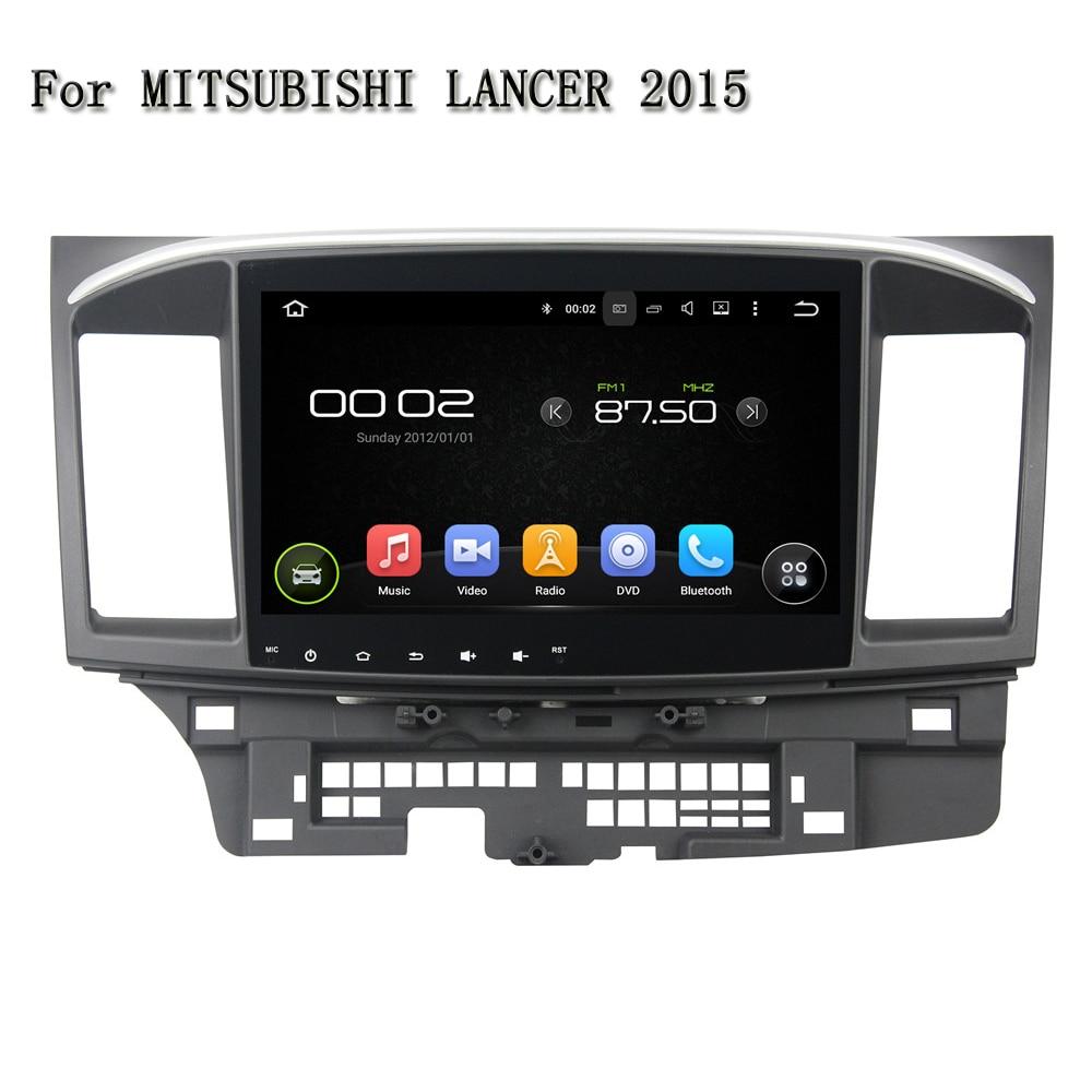 Android 5.1.1 2 DIN dvd-плеер автомобиля GPS навигации автомобилей видео-плеер 3G/4 г 10.1 дюймов 1024*600 для Mitsubishi Lancer 2015