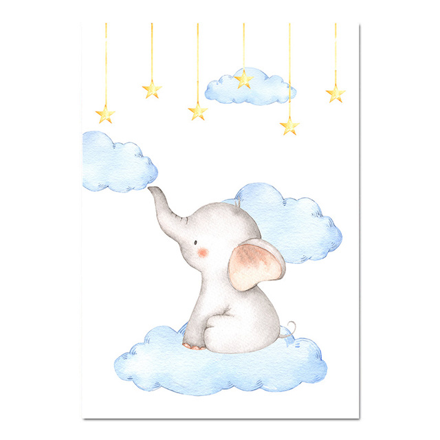 Baby Nursery Wall Art Poster