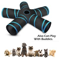 5-holes-house-foldable-pet-tunnel-cat-play-tent-nest-toys-kitten-cat-funny-toy-bulk-cat-toy-rabbit-play-tunnel-with-ball-for-cat