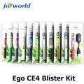 5 unids tubo vaporizador Electrónico ego Ego Kit Blister CE4 ego precio vapor clearomizer evod ce4 humo ego-t batería vape consolador (MM)