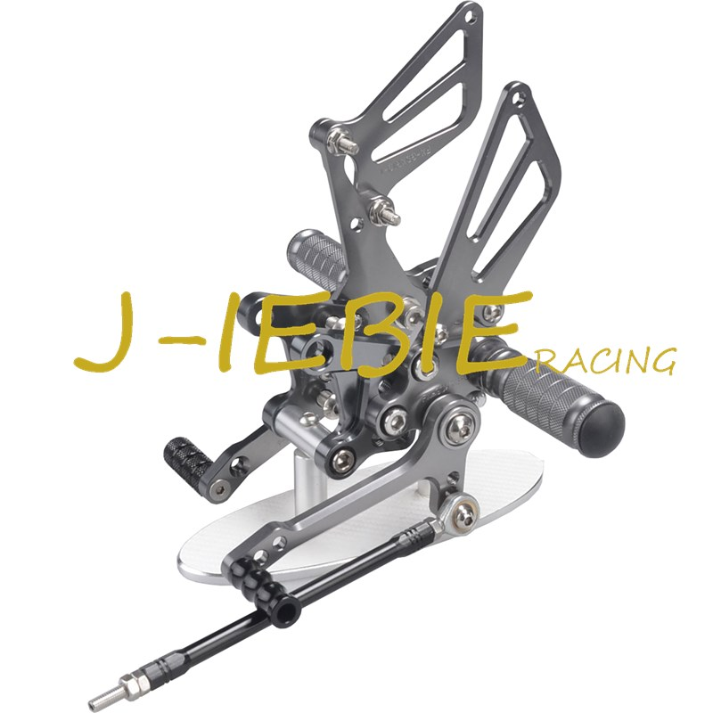 CNC Racing Rearset Adjustable Rear Sets Foot pegs For Suzuki GSXR1000 2001-2004 GSXR600 GSXR750 2001-2005 SV650 SV1000 TITAINUM adjustable rider rear sets rearset footrest foot rest pegs gold for suzuki gsxr600 gsxr750 gsxr 600 750 2011 2012 2013 2014 2015