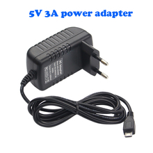 Raspberry Pi 3 Power Charger adapter 5V / 3A Micro USB Port Power Adapter Supply 5V3A EU US adapter For Raspberry Pi 3 Model B