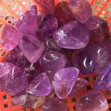 100g Natural large particle amethyst gravel degaussing stone aquarium flower decoration crystal accessories