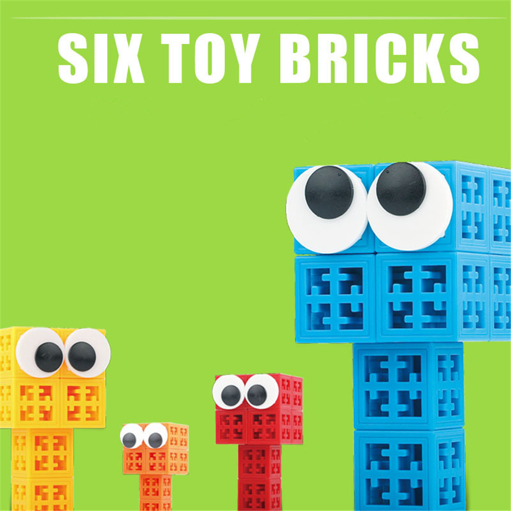 34/48/88/138/188pcs Blocks Cubes Unit Plastic Interlocking Construction Model Building Set of Early Educational Toys For Child 1