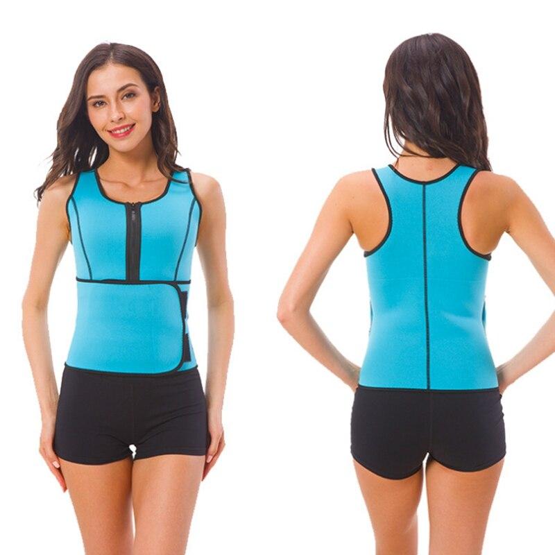 Heißer Neopren Taille Verstellbaren Gürtel Sweat Sauna Slimmerbelt Körperformer Taillentrainer Weste Workout Shapewear Dropshipping
