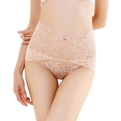 HW51 Women's Underwear Sexy Lingerie Lace Underpants Female Seamless Breathable Briefs   Panties   High Waist Knickers Calcinhas