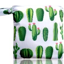 [Lecy eco life] saco reutilizável de saco molhado, tamanho multifuncional 18*18 para mamãe, 1 peça almofadas de pano, almofada menstrual, sacos sanitários