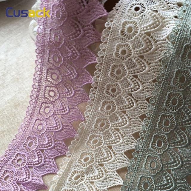 Как вышивают кружева на ткани 168