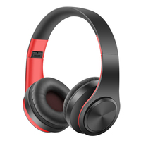 Wireless Bluetooth Earphones Stereo Foldable Headphones Super Bass Headset Portable With HD Mic Mp3 Support SD