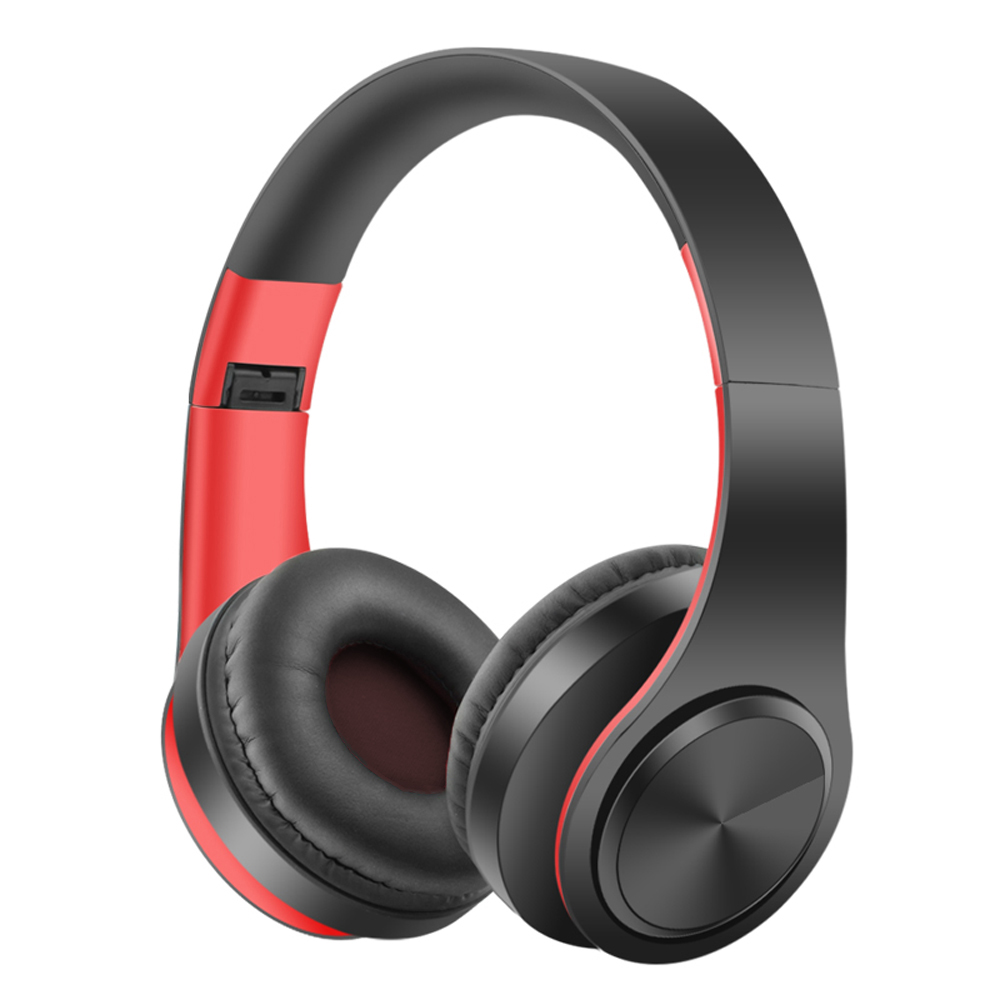 Wireless Bluetooth Earphones Stereo Foldable Headphones Super Bass Headset Portable with HD Mic mp3 Support SD card