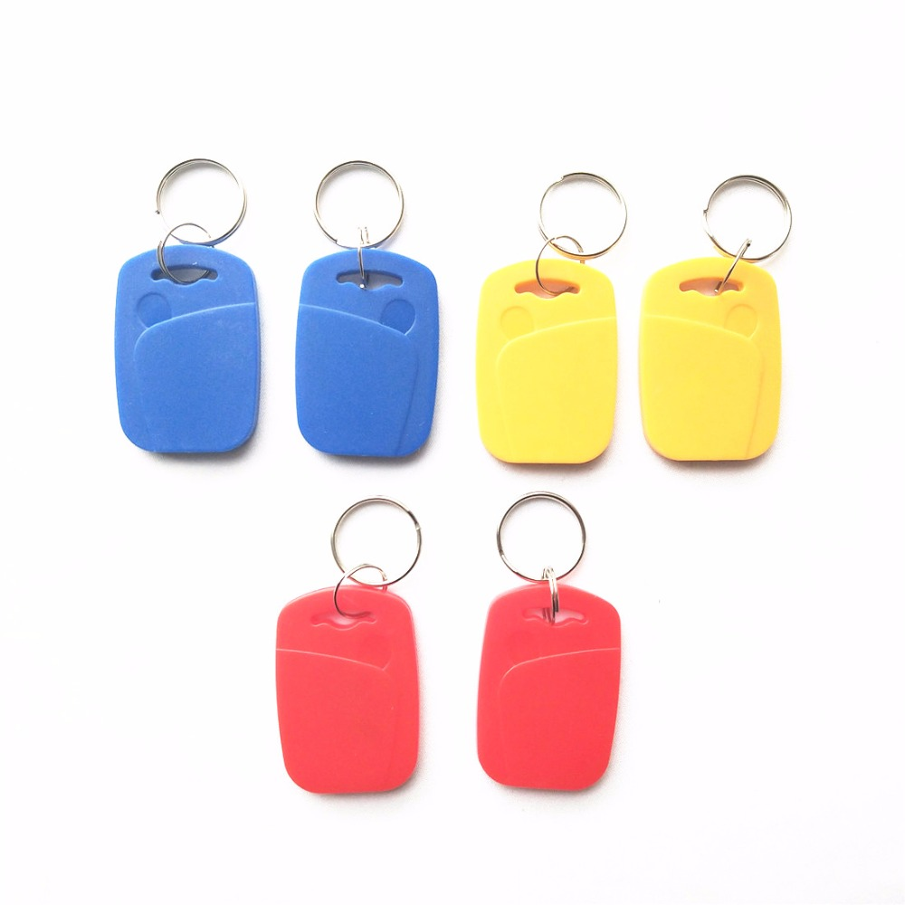 10PCS UID Changeable 13.56mhz 1K RFID Double Frequency Card Rewritable Zero 0 Sector 0 Block 125khz T5577 Rewritable ID Tag