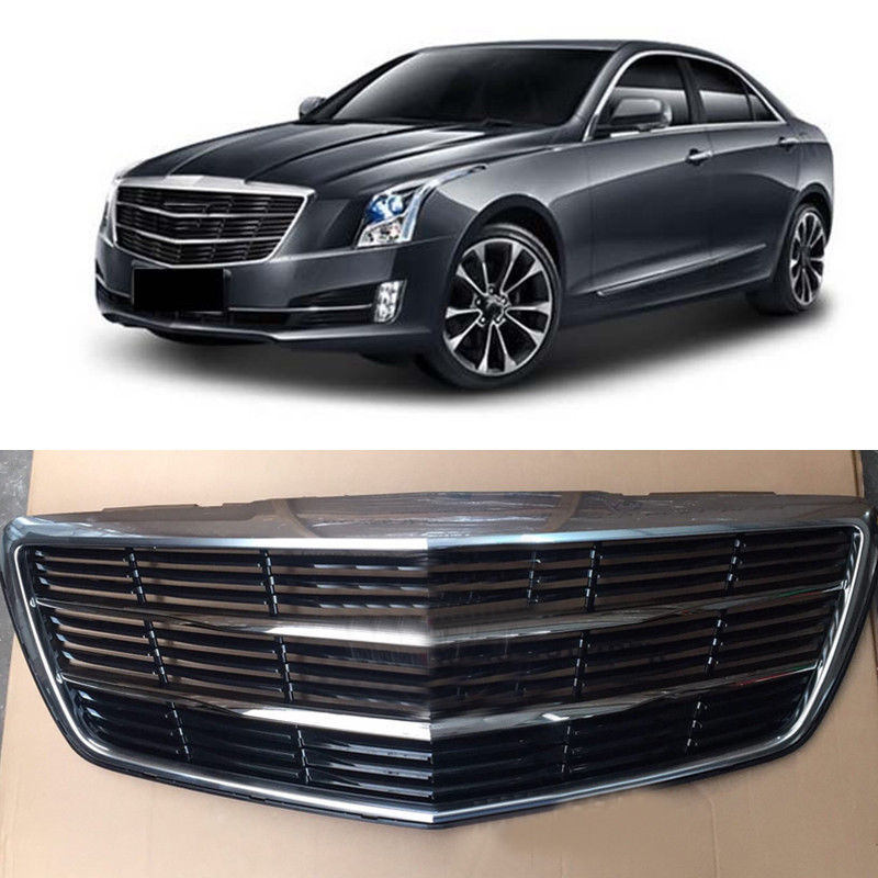 Mesh Cover Auto Front Grille Grill Fit For Cadillac ATS