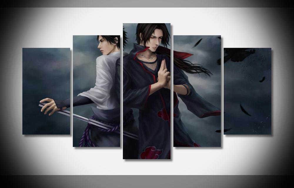 2544 itachi y Sasuke uchiha naruto anime poster enmarcado galería ...