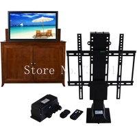 Электрическая автоматическая ТВ Лифт полки с Дистанционное управление для отель домой кровать мебель подходит для 25 50 дюймов плазменной ТВ
