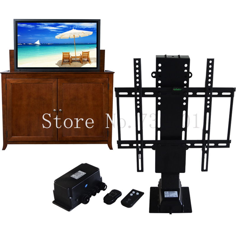 Electric Automatic Tv Lift Shelves With Remote Control For Hotel Home Bed Furniture Suitable For 25-50 Inch Plasma Tv Bracket A Great Variety Of Models