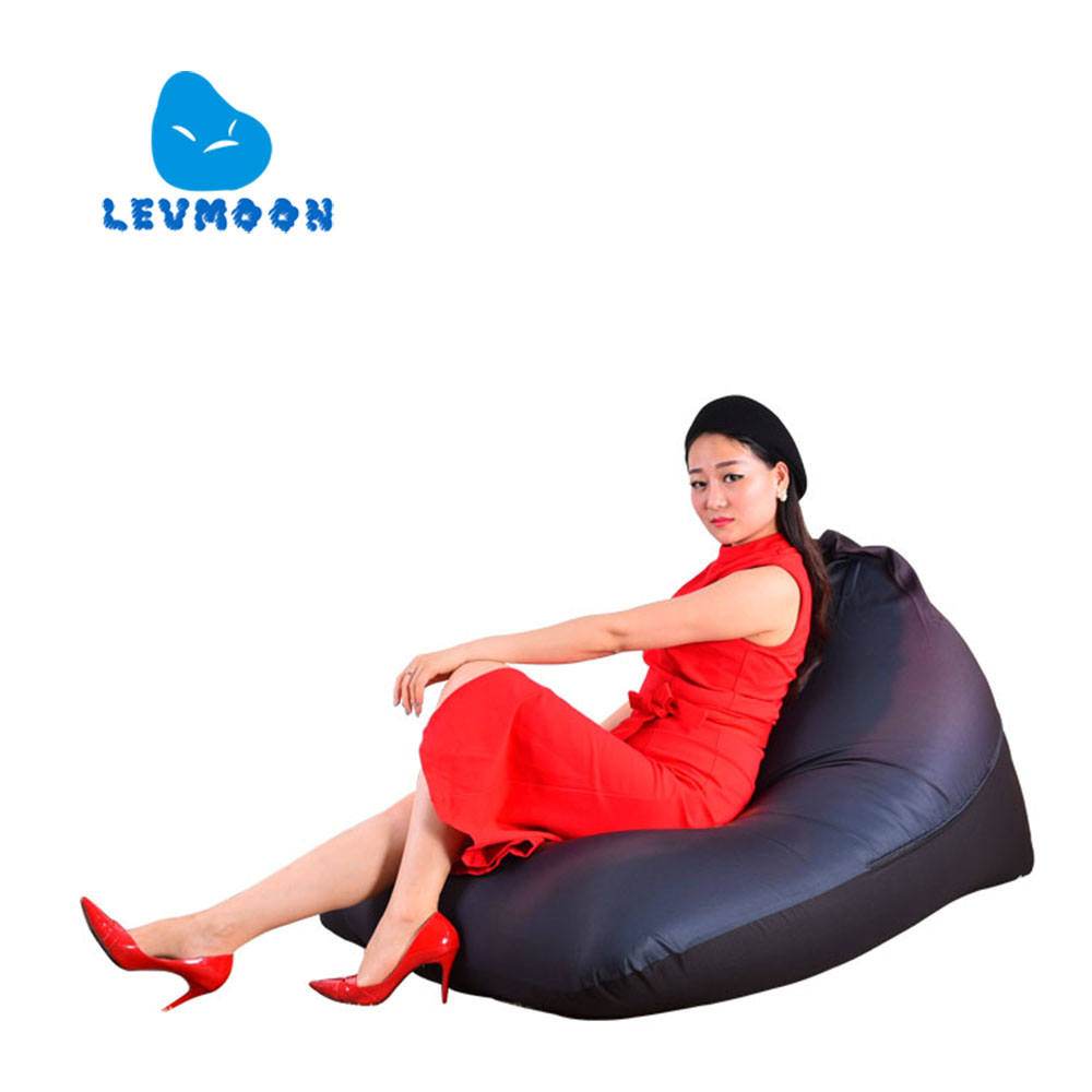 LEVMOON Beanbag Sofa Jesus Portrait Seat Zac Comfort Bean Bag Bed Cover Without Filling Cotton Indoor Beanbags Lounge Chair