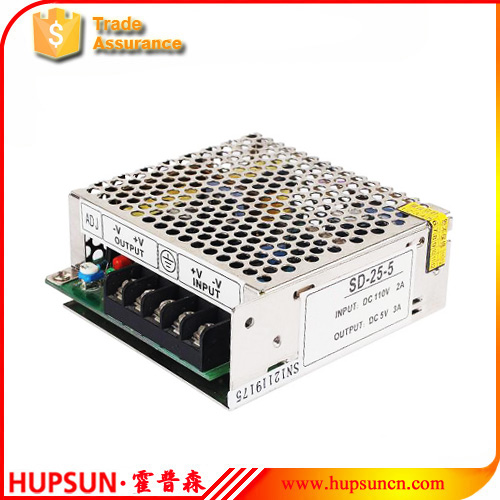 SD-25 fonte 25W 5v DC to DC power supply input 24vdc 36vdc to 5v 5A switching source LED driver transformer