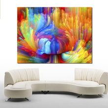 QCART Abstract Home Decor Living Room Modern Canvas Picture Wall Art No Frame Painting