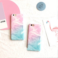 Candy Color Gradient Colorful Softpink Light Blue For Iphone 6 6s 4 7inch 6plus 6splus 5