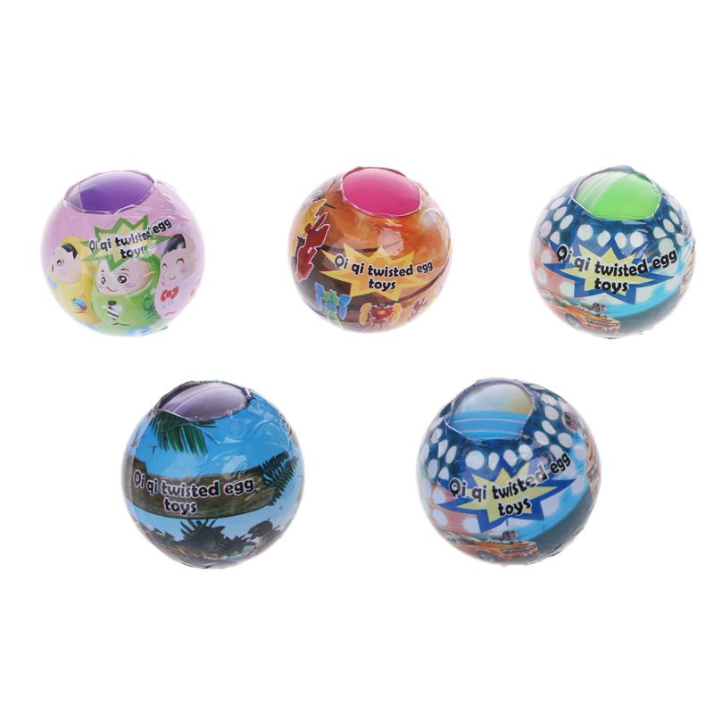 6PCS Toy Ball Surprise Egg Surprise Ball Suprise Doll Toys Gashapon Kids Toy Gift