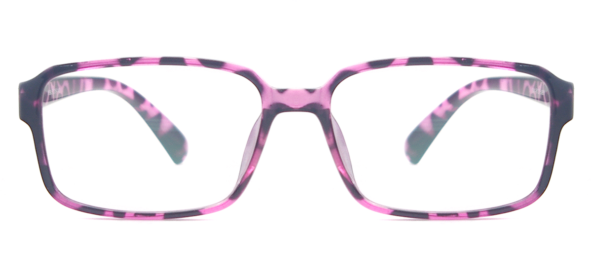 women lightweight square spectacle frame tortoise cheap eyeglasses for prescription lenses